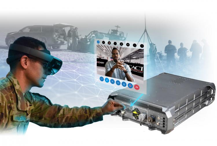 Augmented Reality Advances Battlefield Mission System Support